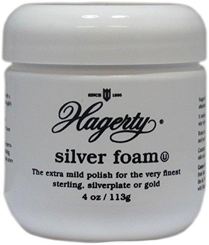 Hagerty Silver and Gold Polishing Foam 4 Oz. Jar