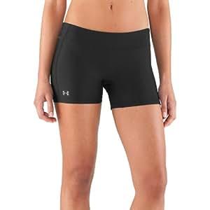 Under Armour Womens UA HeatGear Compression Shorts, XS