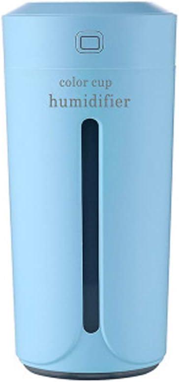 QIUDAN Mini difusor de Coche, humidificador de Aire USB Cool Fog Air Freshener sin Agua para el Coche o el Dormitorio de la Oficina: Amazon.es: Jardín