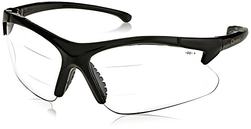 Smith & Wesson 138-20387 V60 30-06 Dual Readers Safety Eyewear, +1.5 Diopterpolycarbonate Anti-Scratch Lenses, One Size, ()