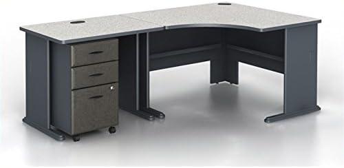 Bush Business Furniture Series A 3-Piece Corner Computer Desk