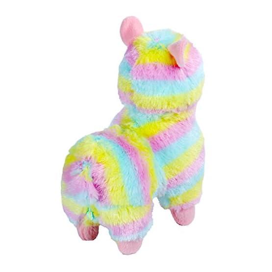 Rainbow Alpaca Plush | 6.7 Inches | Alpacasso Plushies 4