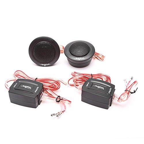 Skar Audio TX-T 240 Watt Max 1-Inch Neodymium Silk Dome Tweeters - (1 Silk Dome Tweeter)