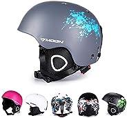 Lightweight Ski Helmet Snowboard Snowmobile Protective Gear Winter Sports Earmuffs