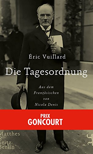 Die Tagesordnung (German Edition)