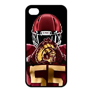 NCAA USC Trojans Logo for Iphone4/4s Best Hard Cover Case-Creative New Life