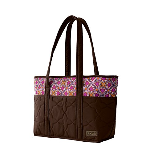 cinda b. Stained Glass Carryall Tote