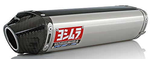 Yoshimura RS-5 Slip-On Muffler Stainless/Stainless/Carbon for Hon CBR600RR 03-04 by Yoshimura