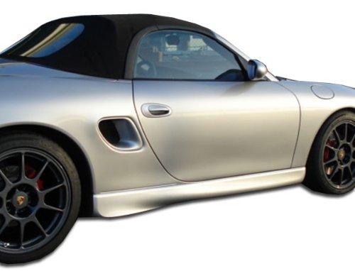 Porsche Fiberglass Body Parts (1997-2004 Porsche Boxster Duraflex GT-3 Look Side Skirts Rocker Panels - 2 Piece)
