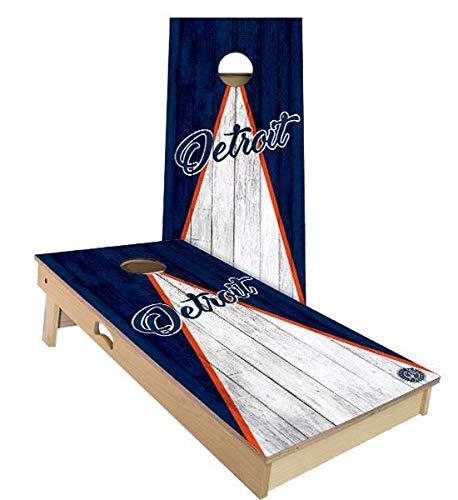 (Skip's Garage Detroit Triangle Baseball Cornhole Set - 2x3 (24