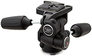 Manfrotto 804RC2 Basic Pan Tilt Head with Quick Release Plate 200PL-14 - Replaces 3047 -Black