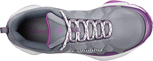 Columbia Conspiracy V Shoes Women Ti Grey Steel/Intense Violet 2018 Schuhe