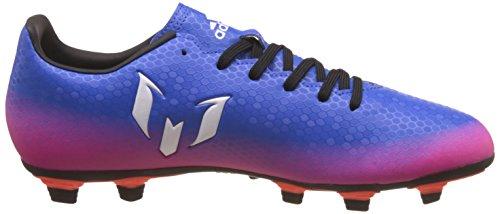 Adidas Messi 16.4 Fxg, pour les Chaussures de Formation de Football Homme, Bleu (Azul/Ftwbla/Narsol), 42 EU
