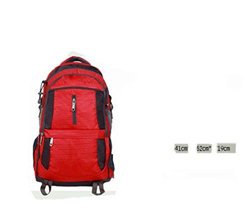 Leisure Blue Shoulders Laidaye Business purpose Backpack Travel Net Multi Sponge Bzfz7q6