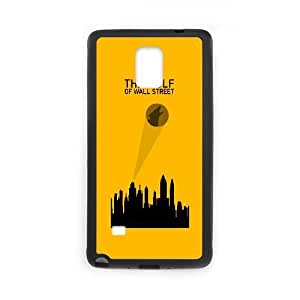 Samsung Galaxy Note 4 Cell Phone Case Black The Wolf Of Wall Street Alternative Poster SUX_013303