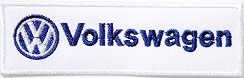 VW Volkswagen Golf GTI Bug Beetle Logo Sign Car Van Bus Patch Sew Iron on Applique Embroidered T shirt Jacket Custom Gift BY (Remote Intake Pump)