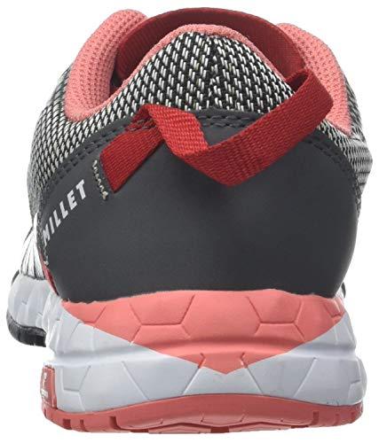 MILLET de Basses LD Amuri Rouge Randonnée Tarmac Femme Gris Hibiscus 8162 Chaussures wwXxrH