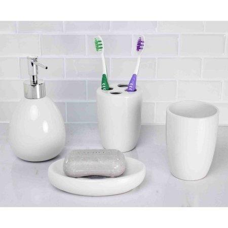 White Bathroom Set - 9