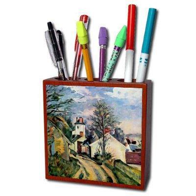 House Of Dr Gachet By Paul Cezanne Pencil (Doctor Gachets House)