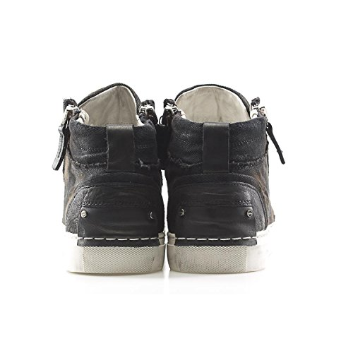 Crime Sneakers Size London Canvas 40 Uomo Crime Alta Sneakers Canvas London Alta Uomo rqrwfFC