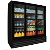 BMG-74-SLP Full-Height Sliding Glass Door Refrigerator