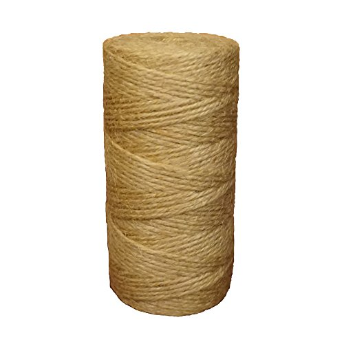 360 Feet Natural Twine for interior decorating Jute Twine Package Twine for Home Decor,Gift Packaging Jute String Christmas Twine-3Ply