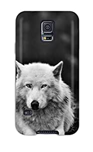 ChrisWilliamRoberson WULRLxA11683uXtaL Protective Case For Galaxy S5(wolf In The Forest)