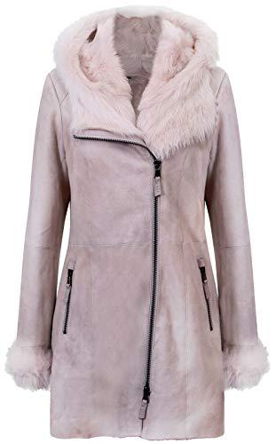 Suede Merino Shearling Jacket - 3