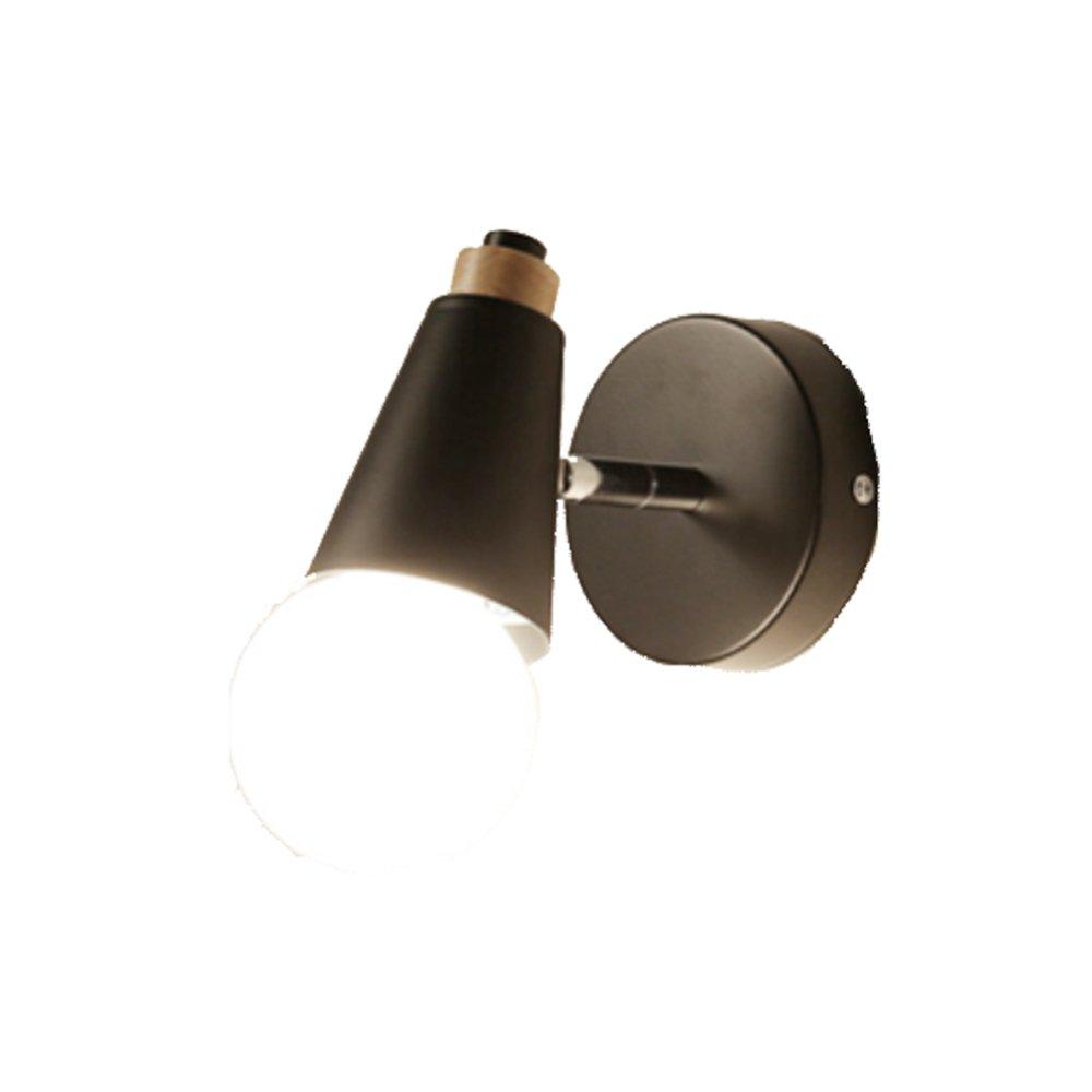 CDREAM Lampada da Parete Testiera Corridoio Corridoio Lampade in Legno Massiccio Lampade da Parete Testa di Cervo Lampada da Parete per Soggiorno E27,2-C