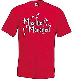 Mischief Managed Hoodie Marauders Map Footsteps Harry Wizard Geek Gift Potter