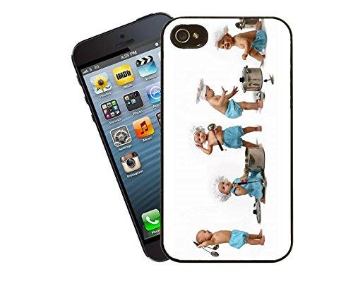 Anne Geddes - kleine Köche iPhone Case - dieses Cover passt Apple Modell 5 und 5 s - von Eclipse-Geschenk-Ideen