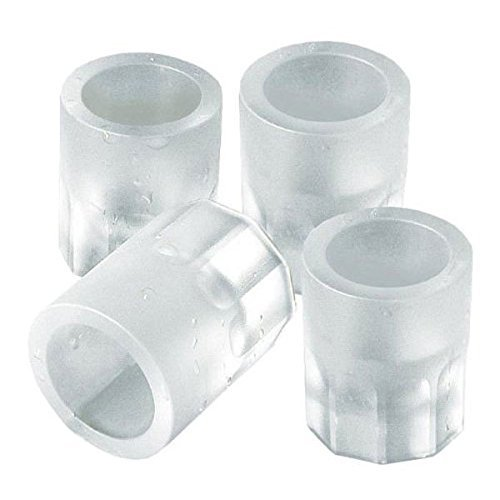 Shot Glass Ice Mold Cool 4 Cups Silicone Tray Great For Summer Party Home Kitchen Event