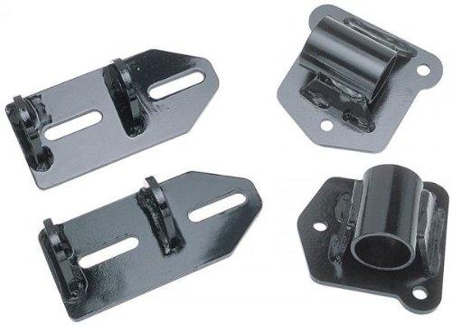 Trans-Dapt Performance 4567 Swap Motor Mount Incl. Brackets/Polyurethane Pads For Use w/Small Block Chevy V8 Engine Swap Swap Motor Mount - V8 Swap Kit