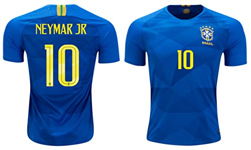 4502a483e Neymar Jr  10 Brazil Soccer Jersey Men s Home Away Brasil Adult World Cup  Short
