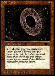 Magic: the Gathering - Millstone - Antiquities