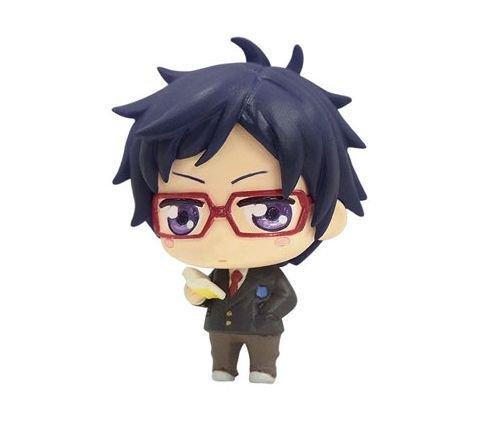 - RARE Free! Iwatobi Swim Club Mini Figure Mascot Strap Ryugasaki Rei B Limited