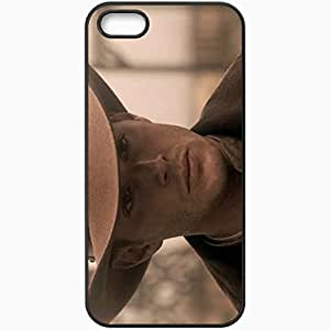 Personalized For SamSung Galaxy S4 Mini Phone Case Cover Skin Dean Winchester Jensen Ackles Cowboy Hat View Black