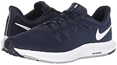 Compulsión reputación Húmedo  Nike Quest Mens Running Shoe, Obsidian/White-Midnight Navy, 10.5:  Amazon.ca: Shoes & Handbags