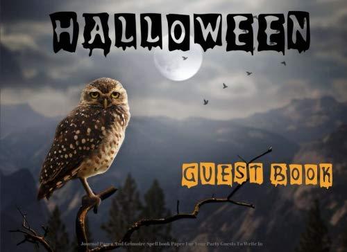 Halloween Guest Book ()