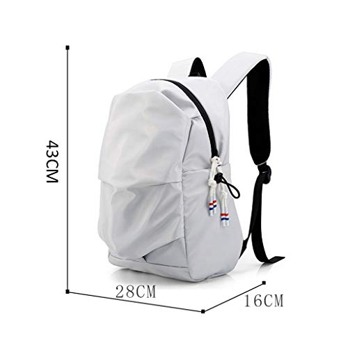 M Sports Bag Backpack Men's inch Gray Size Color Casual Bag 15 Fashion Computer Backpack Gray School gg6q8HXx