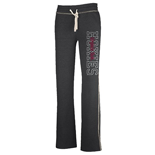 NCAA Virginia Tech Hokies W Lounger Pant, Charcoal Heather, Medium