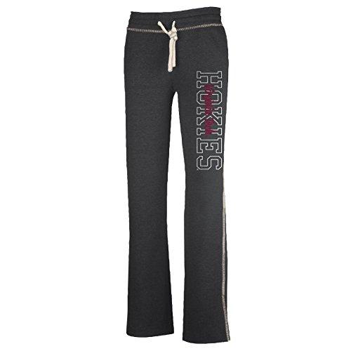(NCAA Virginia Tech Hokies W Lounger Pant, Charcoal Heather, Medium)