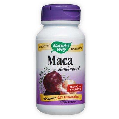 Natures Way Maca Standardized Vegetarian Capsule, 60 ct
