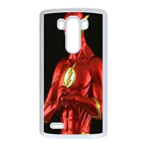 The Flash LG G3 Cell Phone Case White JNC3832C
