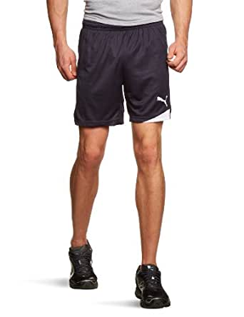 Puma Men's Esito Shorts W/O Inner Slip 2XL New Navy- White