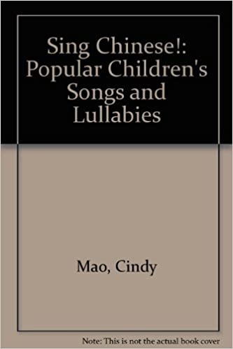 Sing Chinese Popular Children S Songs Lullabies Book And Tape