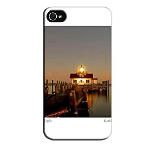 TPU White For Iphone 4 The Dock Protective Hard Case