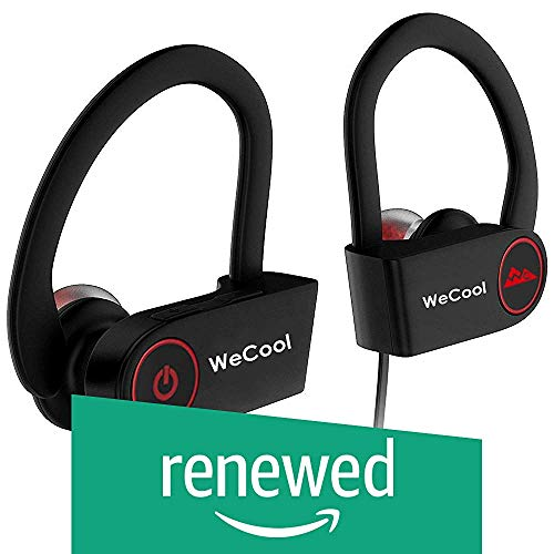 (Renewed) WeCool Joggerz U8i Sports headsets || Bluetooth Earphones for Mobile with mic || Bluetooth Headphones Wireless || Bluetooth Earphones for Immerse Music and Hands Free Calling + Free Carry Case