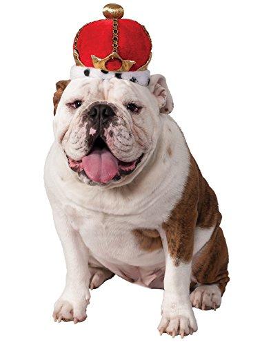 Rubie's King's Crown Pet Costume Accessory, Medium/Large, Multicolor]()