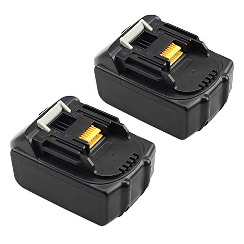 BL1850 Replace for Makita 18V Battery 5.0Ah Lithium LXT BL1850B BL1860 BL1845 BL1830 BL1815 (2 Pack)